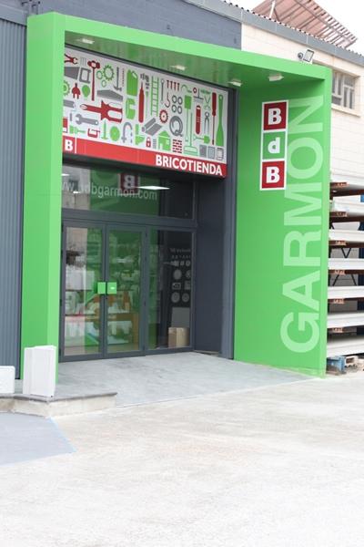 impresion gran formato verde y vinilos bdb bricotienda garmon