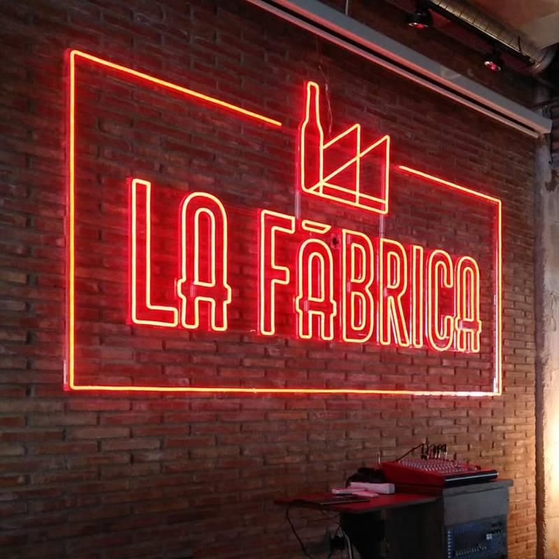letras corporeas neon la fabrica